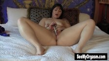 Chubby Sarah Masturbating With Toy