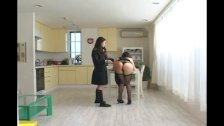 Asian Schoolgirl Makes Teacher Lesbian Pet Part 10