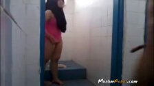 Indonesian Couple Fucking In Bathroom