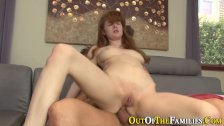 Real stepdaughter banged