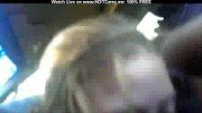 Blonde Teen Deepthroat Back Cock In Car