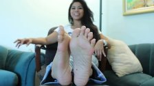 Amazing smooth asian soles 1fuckdatecom