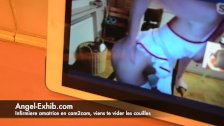 Infirmiere en cam2cam avec milf 720camscom