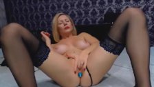 My Blonde Mother Masturbates on Cam