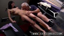 Amia blowjob Horny senior Bruce spots a