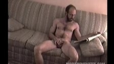 Homemade Video of Mature Amateur Max Jacking Off