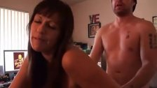 Super hot busty mom hard fucked with a boy