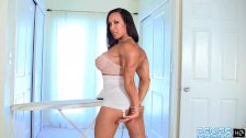Denise Masino - Muscle Bombshell Video - Female Bodybuilder