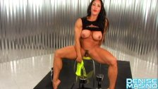 Denise Masino The All Wet Arm Workout - Female Bodybuilder