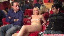 Dutch prostitute cummed on in holland