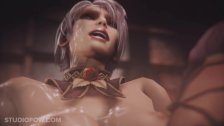 Ivy Valentine in Soul Calibur have sex