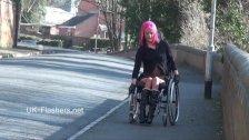 Exhibitionist wheelchair babe l kinkyandlonel