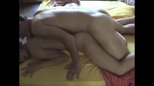 Hot Amateur Couple In Amazing Bedroom Fuck!