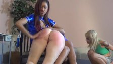 skin diamond gets spanked