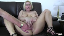 XxxOmas - Fat German slut gets fucked hard in foursome