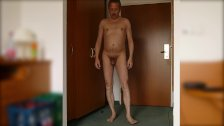 237 Redbube Man posing shamelessly ago web camera shows penis big dick nude