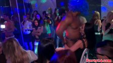 Euro amateur cocksucking at hot orgy party