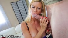 EvilAngel Alexis Fawx Talks Dirty to Stepson