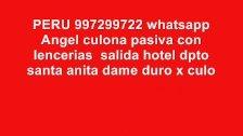 Parejita peruana 997299722 angel culona disfruta del sexo en su casa