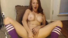 Busty Redhead Toying Free Webcam Chat-more MAACAMS COM
