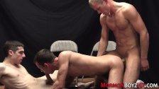 Gay mormon trio fucking