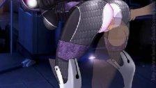 Tali'Zorah in Mass Effect have sex