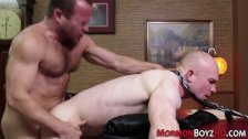 Bound mormons ass fucked