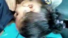 Novinha Brasileira Caiu na Net Fazendo Boquete na Escola