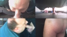 Blowing Thick Daddy In My Gloryhole 4 Ways
