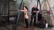 Slave Elise Graves needle bdsm and artistic punishment to tears of decorate