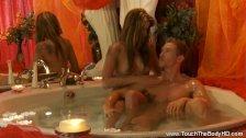 Intimate Body Massage From Blonde MILF