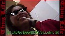 LAURA SAAVEDRA VILLAMIL, Thug life!!! Si hubieras venido con otra??!!