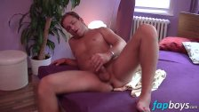 Thomas Lee satisfies his hungry cock