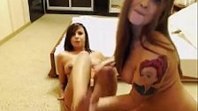 Two Teen Girls Put On a Real Show!