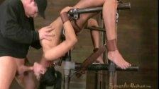 Aunt Joan welcomes Beretta Hung upside Down