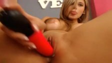 Crazy Webcam video with Asian Blonde