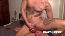 Good Looking Roommates With Big Cocks Go Bareback