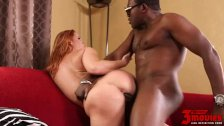 Busty eden takes black dick