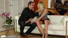 Horny Teen Wants BFFs Daddys Dick