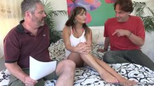 Charlotte Cross Makes New Cuckold Husband Watch Her Fuck