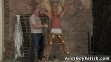 Gay male porn men being gagged by men He's
