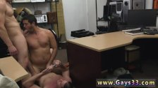 Mature straight men jerking each other off