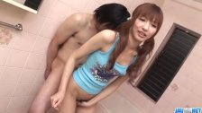 Kotone Aisaki, delights with amazing blowjob