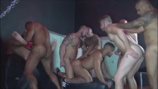 Bareback Sex Club Orgy