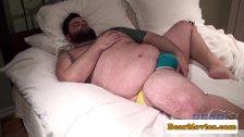 Superchub bear pounding masturbating bottom