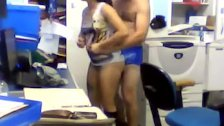 indonesian couple office sex