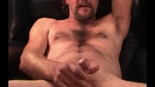 Mature Amateur Larry Beating Off