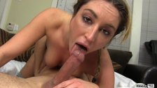 Christina Cinn Giving Him An Intense Blowjob