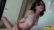 British mistress dominated and made to suck