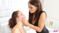 Face Slapping & Real Spit Swallow - Nia Black & Meg Magic
